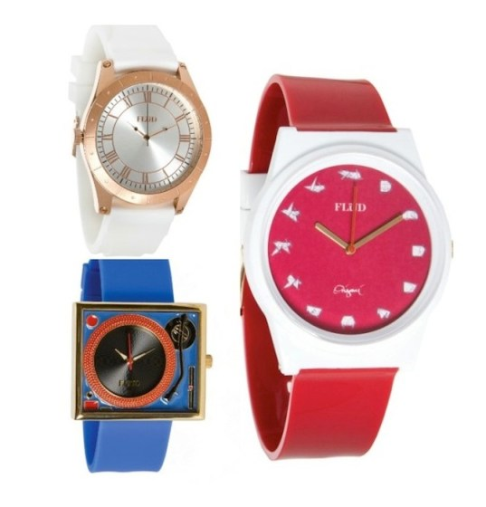 FLUD record player watch FashionDailyMag