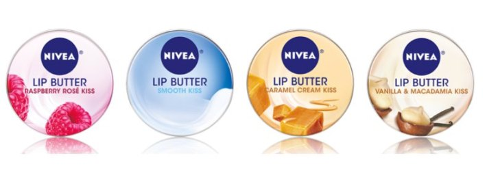 NIVEA LIP BUTTER flavors FashionDailyMag