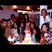 Selena Gomez celebrates 21st birthday