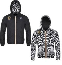 K-Way and Versus Versace jacket