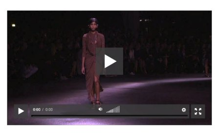 GIVENCHY spring 2014 video pfw FashionDailyMag