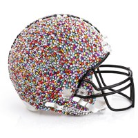 CFDA designer HELMETS: Kicking off the Superbowl