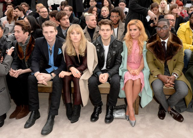 Burberry AW14 Menswear Show - Front Row & Runway