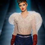 lindsey wixson gaultier haute couture spring 2014