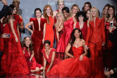 Go Red For Women - The Heart Truth Red Dress Collection 2014 Show Made Possible By Macy's And SUBWAY Restaurants - Runway