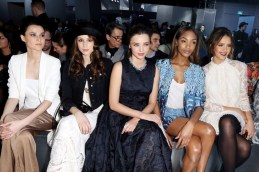 MIRANDA KERR JOURDAN DUNN JESSICA ALBA HM Design fall 2014 FashionDailyMag sel 46