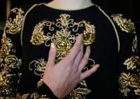 naeem khan beauty fall 2014 FashionDailyMag