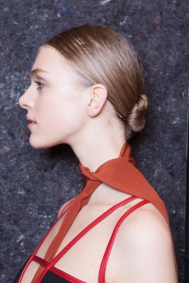 prada fall 2014 backstage beauty FashionDailyMag sel 2