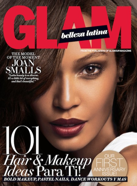 JOAN SMALLS Glam Belleza Latina Spring 2014 Cover fashiondailymag sel 1