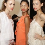 backstage beauty orange lips Christian Siriano FashionDailyMag 6