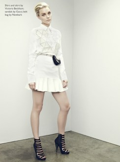 JESSICA STAM the edit victoria beckham FashionDailyMag