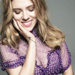 Scarlett Johansson in blumarine by Tom Munro Glamour May | fdmloves