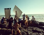 HM GISELE SUMMER behind the scenes fashiondailymag sel 1
