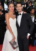 Natasha Andrews and Pierre Niney cannes film festival fashiondailymag