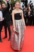 "Kristina Bazan attends the ""Foxcatcher"" cannes film festival"