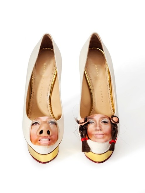 Untitled, 2014, Cindy Sherman, Charlotte Olympia for Stepping Up For Art. Photography Liam Goodman