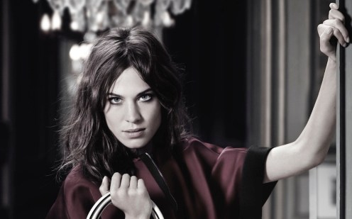 ALEXA CHUNG longchamp ad campain fall FashionDailyMag feature