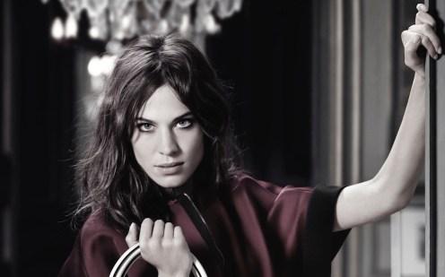 ALEXA CHUNG longchamp ad campain fall FashionDailyMag feature