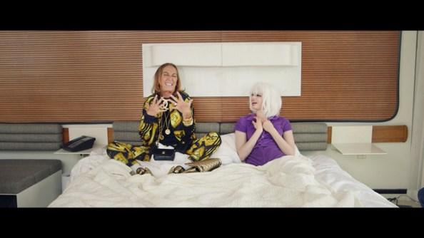 Carlyne Cerf De Dudzeele with Lily McMenamy i-D on FashionDailyMag