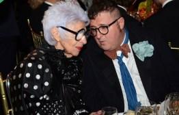 iris alpfel albert elbaz 2014 FIT Gala FashionDailyMag