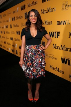 Kerry Washington attends women in film