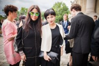 Josie Ho and Yvette Yung at Paris Couture week FashionDailyMag sel 9