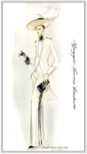 MAGGIE NORRIS couture illustration FashionDailyMag sel 3
