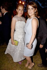 Princess Beatrice and Princess Eugenie 3 serpentine summer party FashionDailyMag