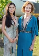 Rebecca Wang and Julia Peyton-Jones Serpentine Summer Party FashionDailyMag