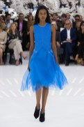 blue DIOR HAUTE COUTURE FALL 2014 FashionDailyMag sel 23