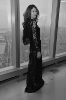 brigitte segura j fashion show one world trade center FashionDailyMag