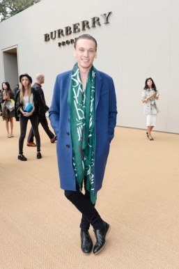 jamie campbell bower burberry ss15 FashionDailyMag