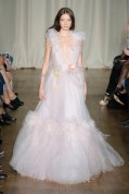 yumi lambert Marchesa Spring 2015 Fashion Daily Mag sel 19