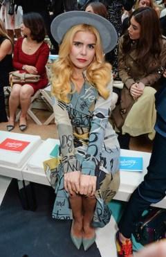 paloma faith burberry ss15 FashionDailyMag