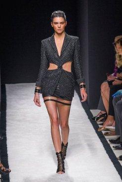 kendall jenner BALMAIN SPRING 2015 FashionDailyMag sel 50