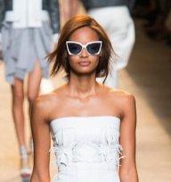 malaika firth Fendi ss15 FashionDailyMag