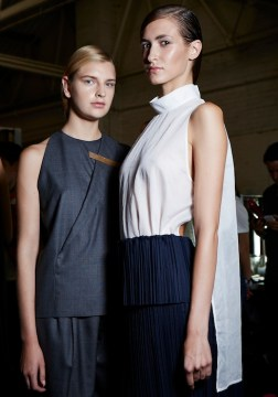 1205 SS15, backstage (Sam Wilson, British Fashion Council) 12 fashiondailymag
