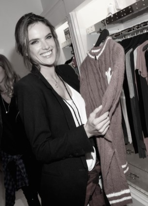 Alessandra Ambrosio attends the Wildfox FashionDailyMag