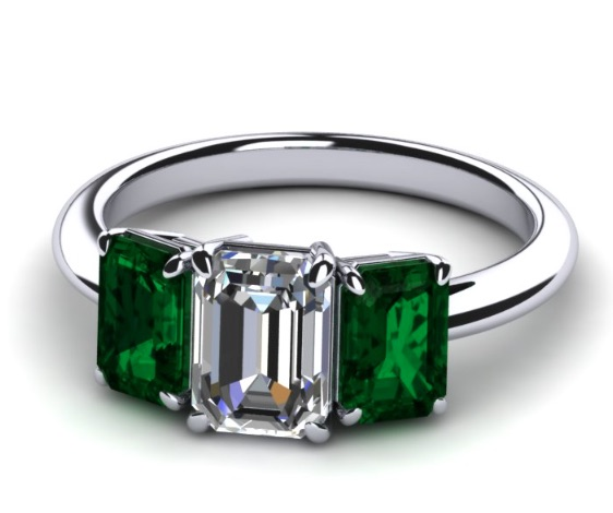 3D DESIGN your own diamond or pearl ring Fashion Daily Mag