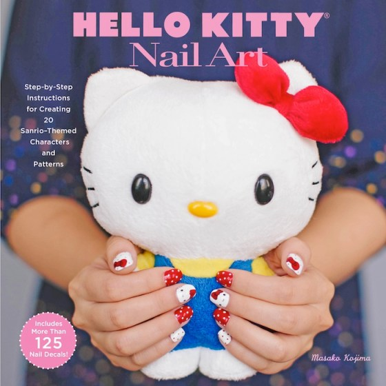 Hello Kitty Nail Art Fashion Daily Mag sel 1