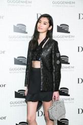 ming xi Dior at Guggenheim gala FashionDailyMag sel 2