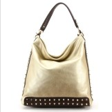 ROBERT MATTHEW gold tote FashionDailyMag