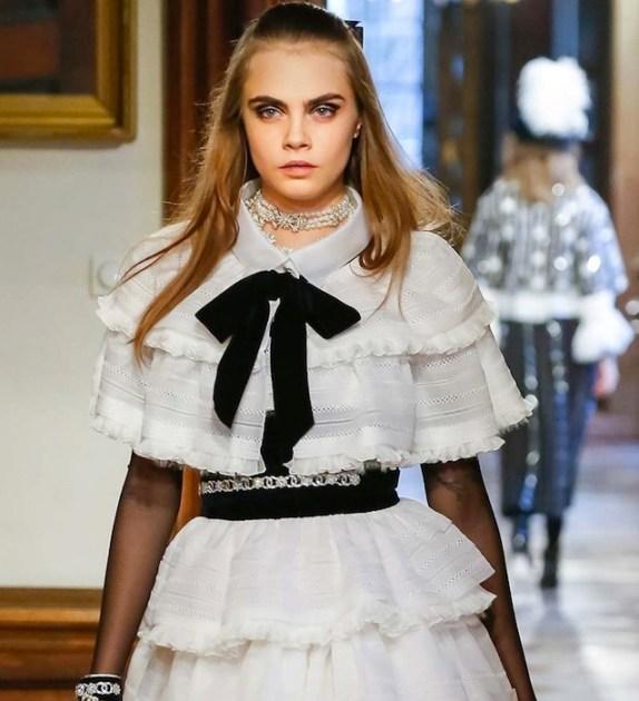 cara delevingne CHANEL PREFALL 2015 fashiondailymag