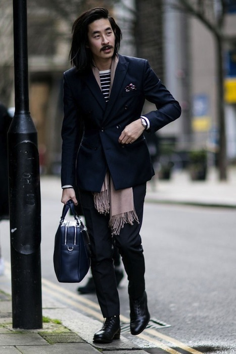LONDON COLLECTIONS MEN AW15 streetstyle FashionDailyMag sel 11