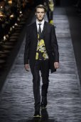 abstract patterns DIOR HOMME fall 2015 FashionDailyMag
