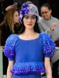 blue CHANEL HAUTE COUTURE ss15 FashionDailyMag sel 39