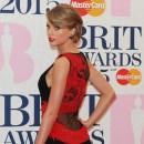 TAYLOR SWIFT at BRIT AWARDS 2015