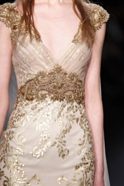 badgley mischka fall 2015 gold