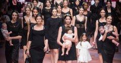 dolce gabbana finale fall 2015 bianca balti FashionDailyMag
