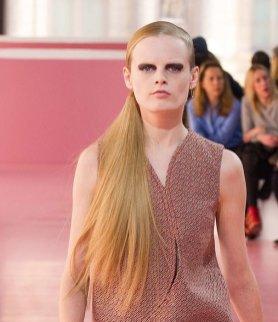 hanne gaby odiele DIOR fall 2015 PFW highlights FashionDailyMag